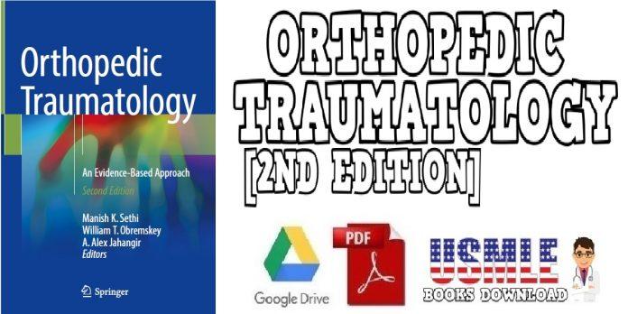Orthopedic Traumatology An Evidence-Based Approach 2ND Edition PDF
