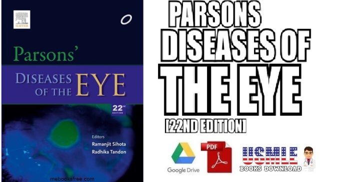 Parson's Diseases of the Eye 22nd Edition PDF