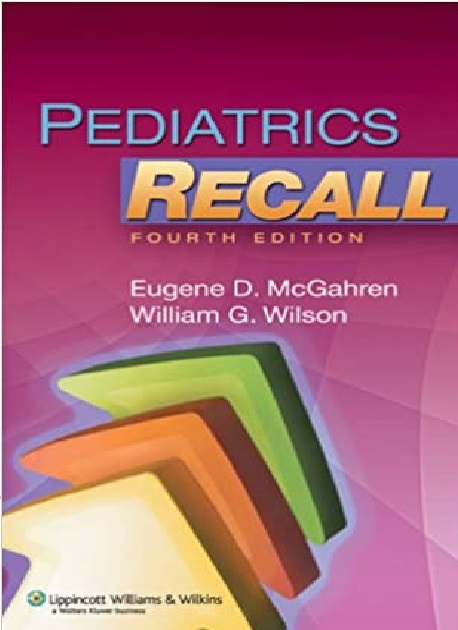 Pediatrics Recall 4th Edition PDF