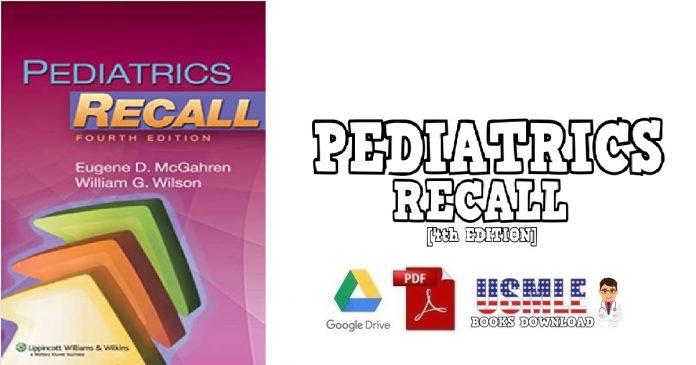 Pediatrics Recall 4th Edition PDF
