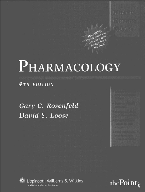 Pharmacology 4th Edition PDF