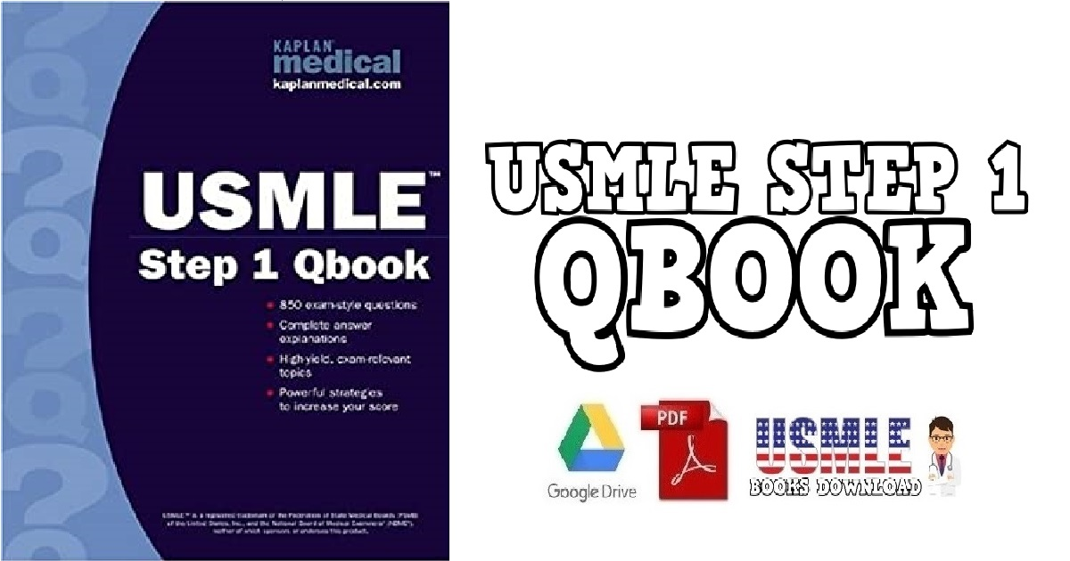 USMLE Step 1 Qbook PDF Free Download