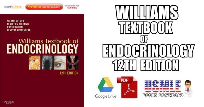 Williams Textbook of Endocrinology 12th Edition PDF