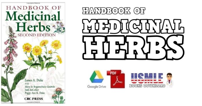 Handbook of Medicinal Herbs 2nd Edition PDF