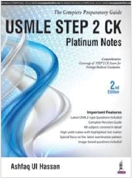 USMLE Step 2 CK Platinum Notes 2nd Edition PDF
